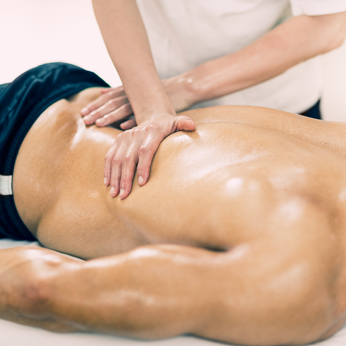 Massage Therapy performed by a registered massage therapist
